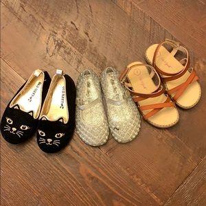 3 Toddler Sz 7 Shoe Lot